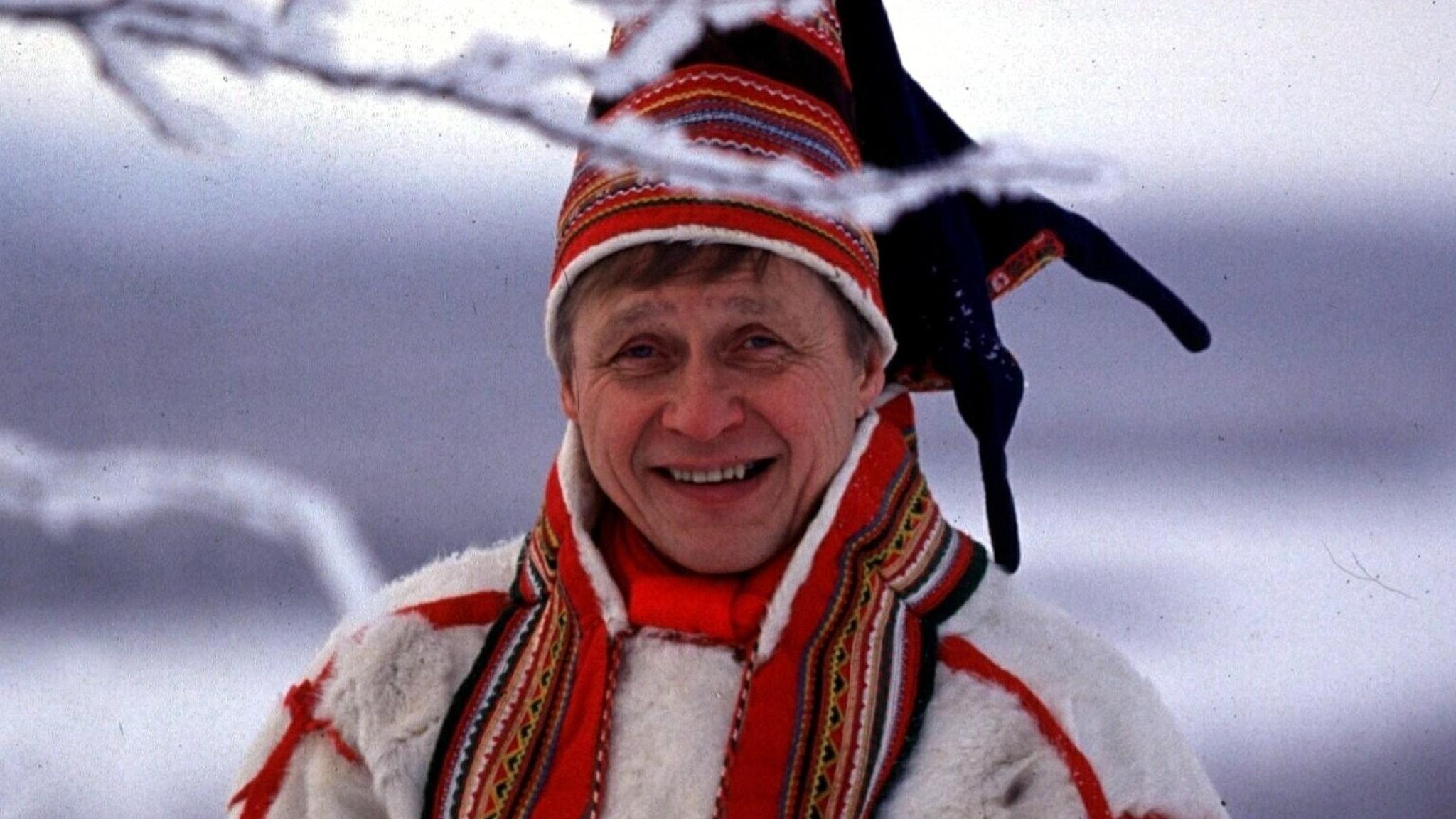 Bild: Nils Aslak Valkeapää.