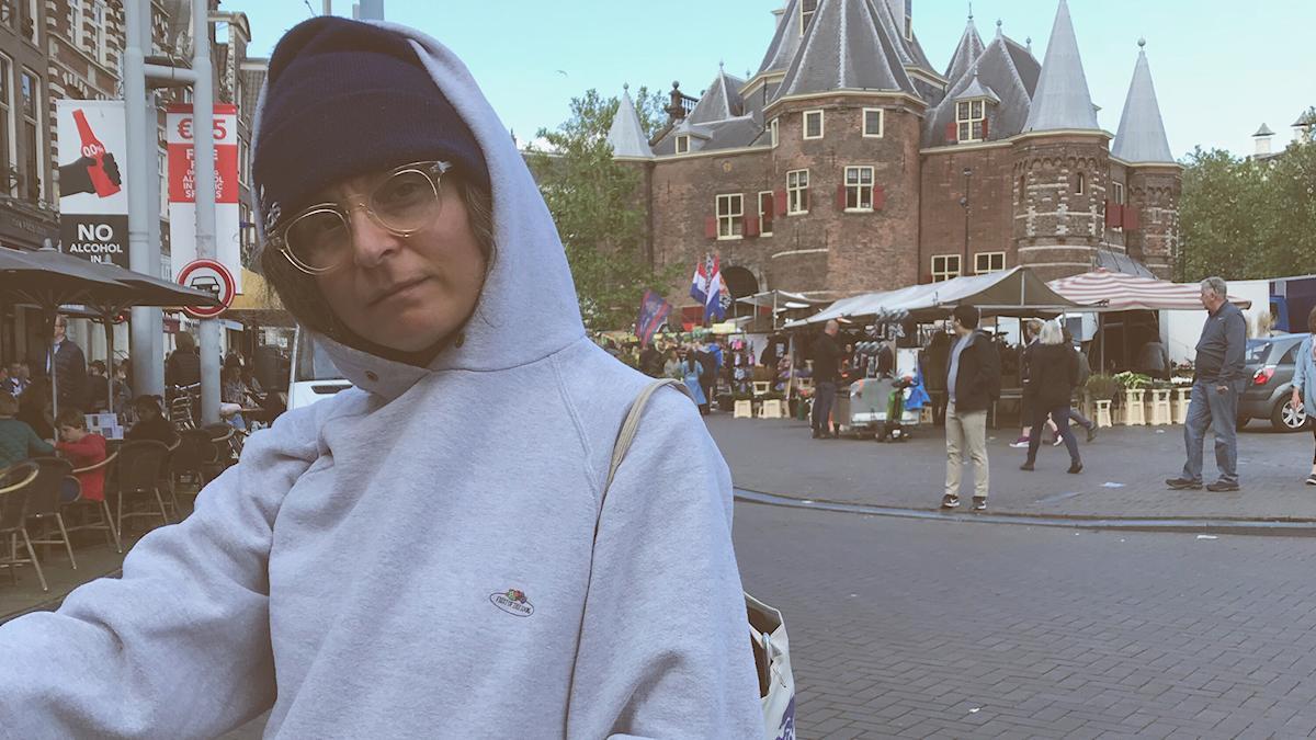 Dijle Neva Yigitbas i Amsterdam
