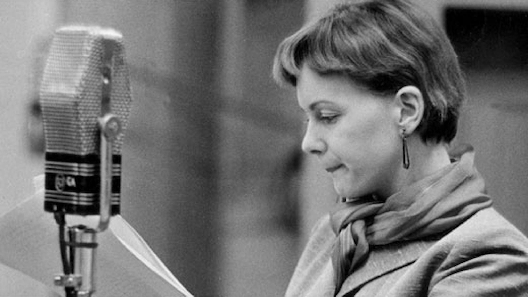 Anita Björk (Foto: SVT Bild)