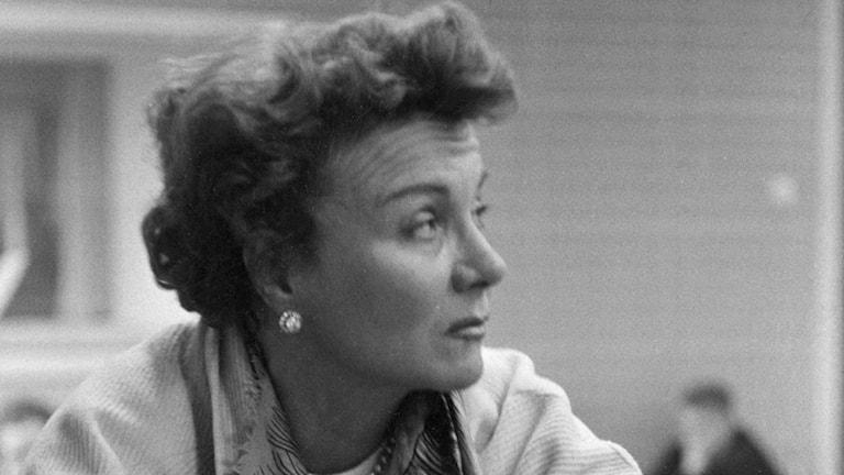 Karin Kavli (Foto: Ulf Stråhle/SVT Bild)