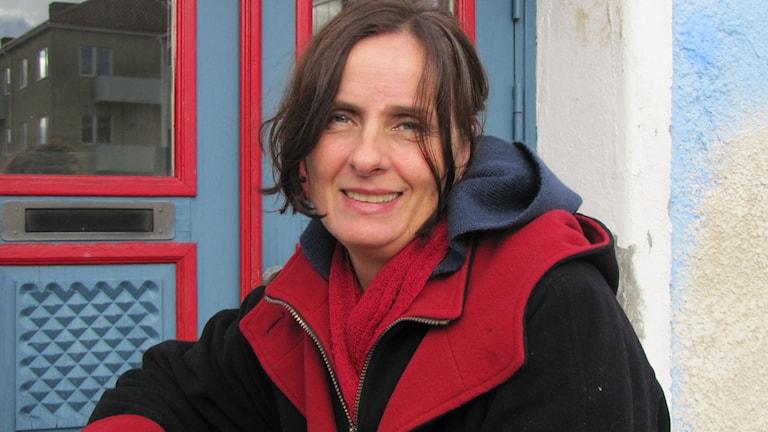 Susanna Alakoski (Foto: Madeleine Fritsch/Sveriges Radio)