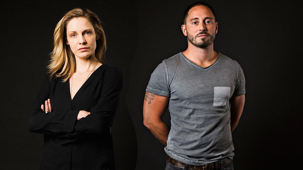 Charlotta Jonsson och Matias Varela i María Villas död.