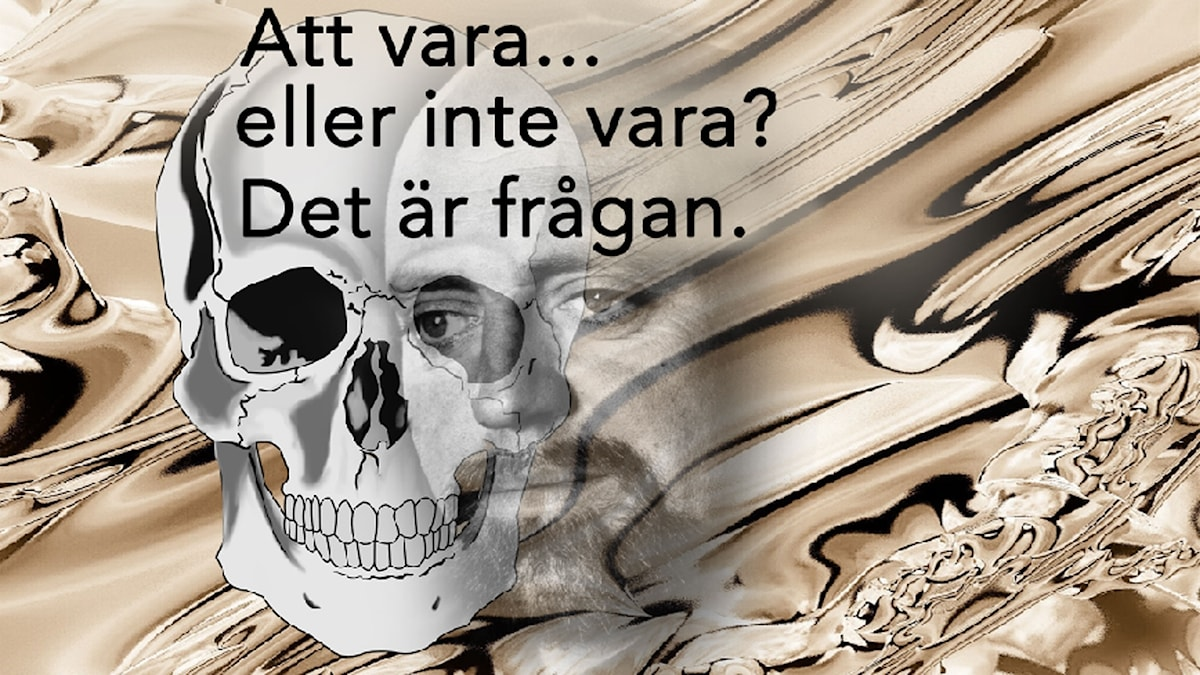 Ulf Palme som Hamlet.
