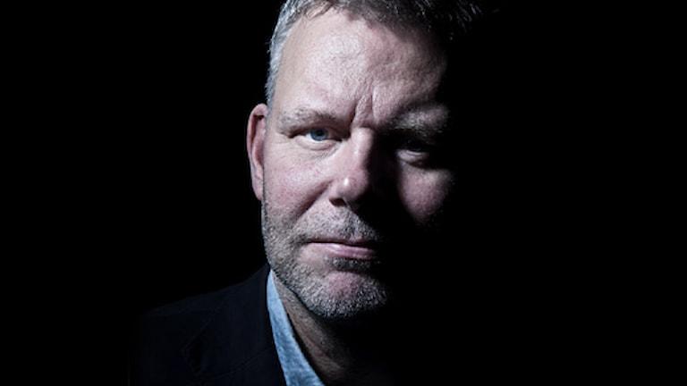 Författaren Jan Arnald (Arne Dahl). Foto: Stina Gullander /Sveriges Radio