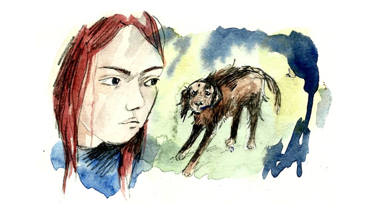 Spänning. Spöket som försvann del 2. Ill: Matilda Ruta/SR