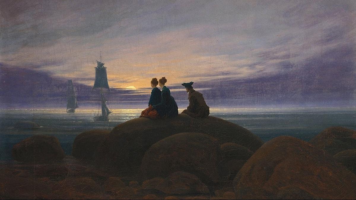 Mondaufgang am Meer / Caspar David Friedrich