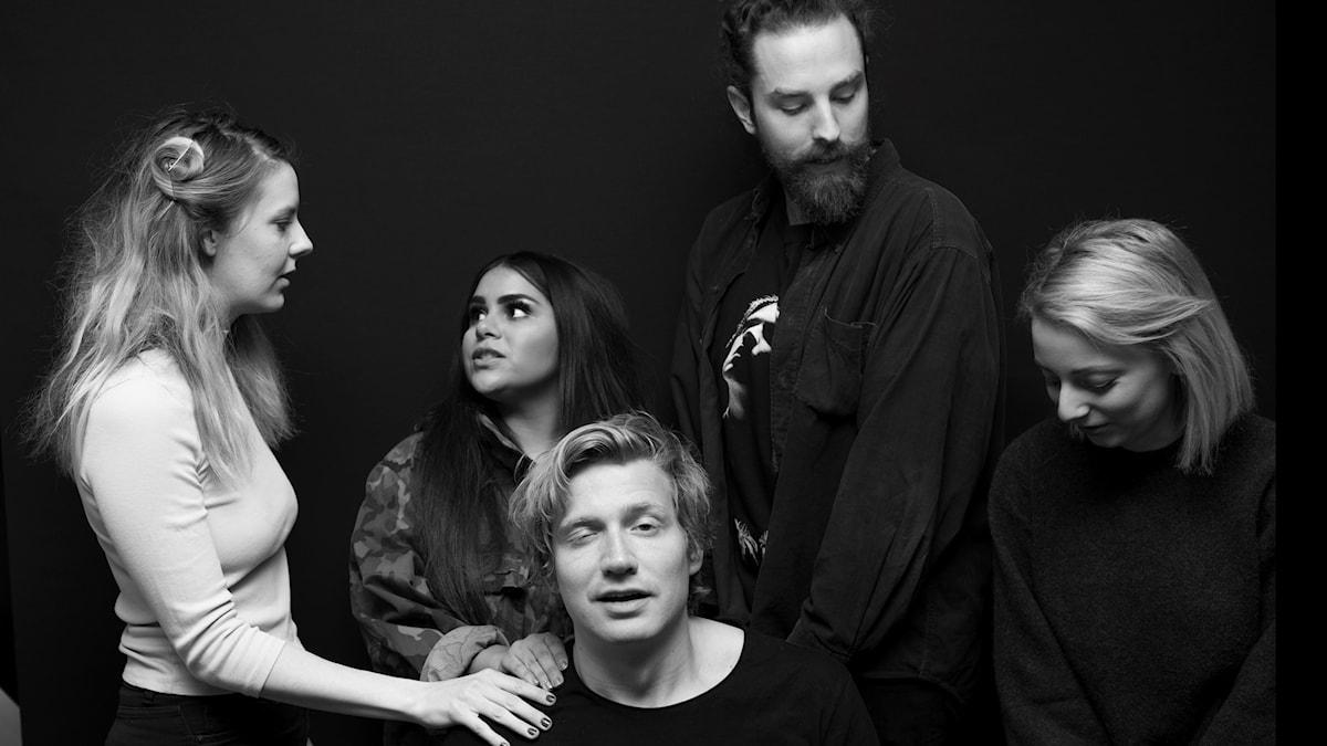 Clara Åström, Arantxa Álvarez, Jesper Cederstrand, Frida Claeson Johansson, Adrian Boberg.