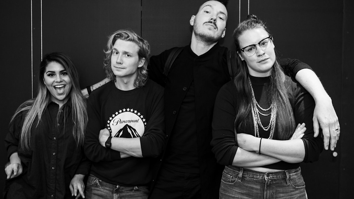 Arantxa, Adrian, Albin och Alinor!