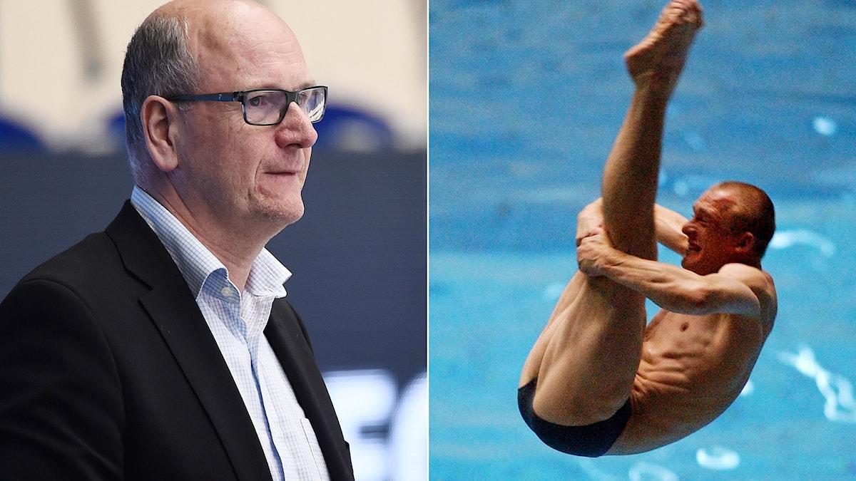 SHL:s domarbas Peter Andersson gästar Istid och pratar bl.a. om diving. Foton: TT.
