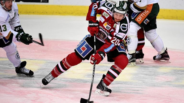 Joel Lundqvist, Frölunda. Foto: Tommy Holl.