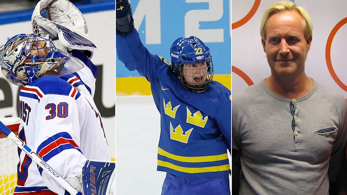Henrik Lundqvist, Emma Eliasson och Magnus Wahlman.