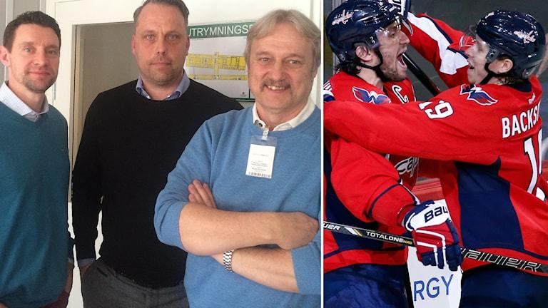 Kristofer Ottosson, Jörgen Lindgren, Sonny Lundwall, Aleksandr Ovetjkin och Nicklas Bäckström medverkar i veckans Istid.