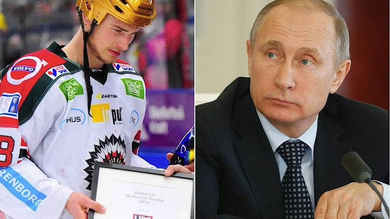 Frölundas Johan Sundström gästar Istid och den ryske presidenten Vladimir Putin kommer på tal när det gäller KHL.