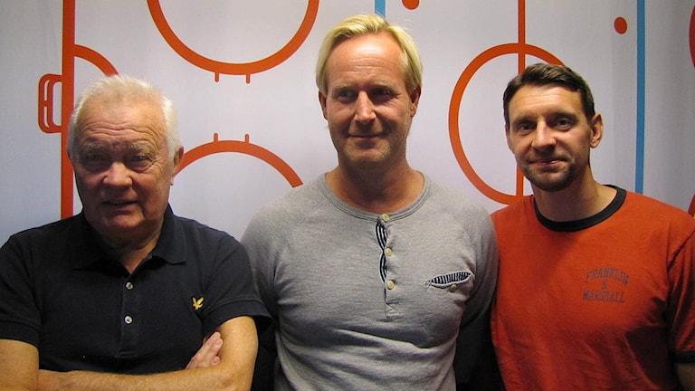 Istid-medverkande: L-G Jansson, Magnus Wahlman och Kristofer Ottosson.