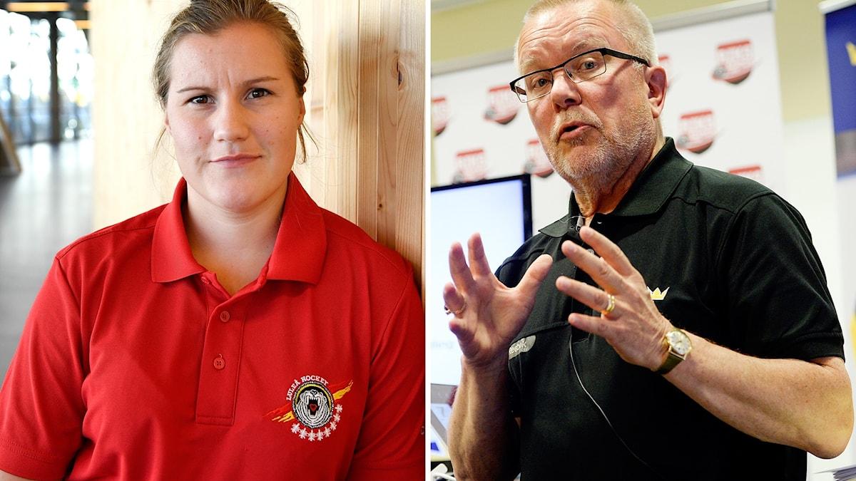 Emma Eliasson är fortsatt i förbundskapten Leif Boorks frysbox.