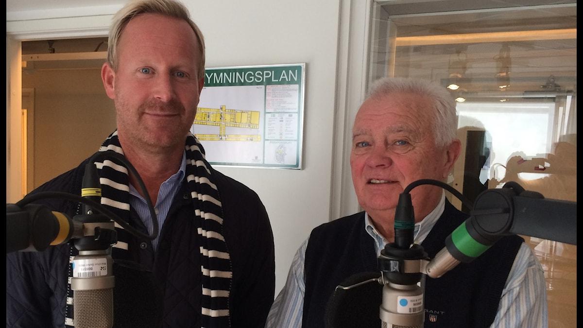 Magnus Wahlman och L-G Jansson.