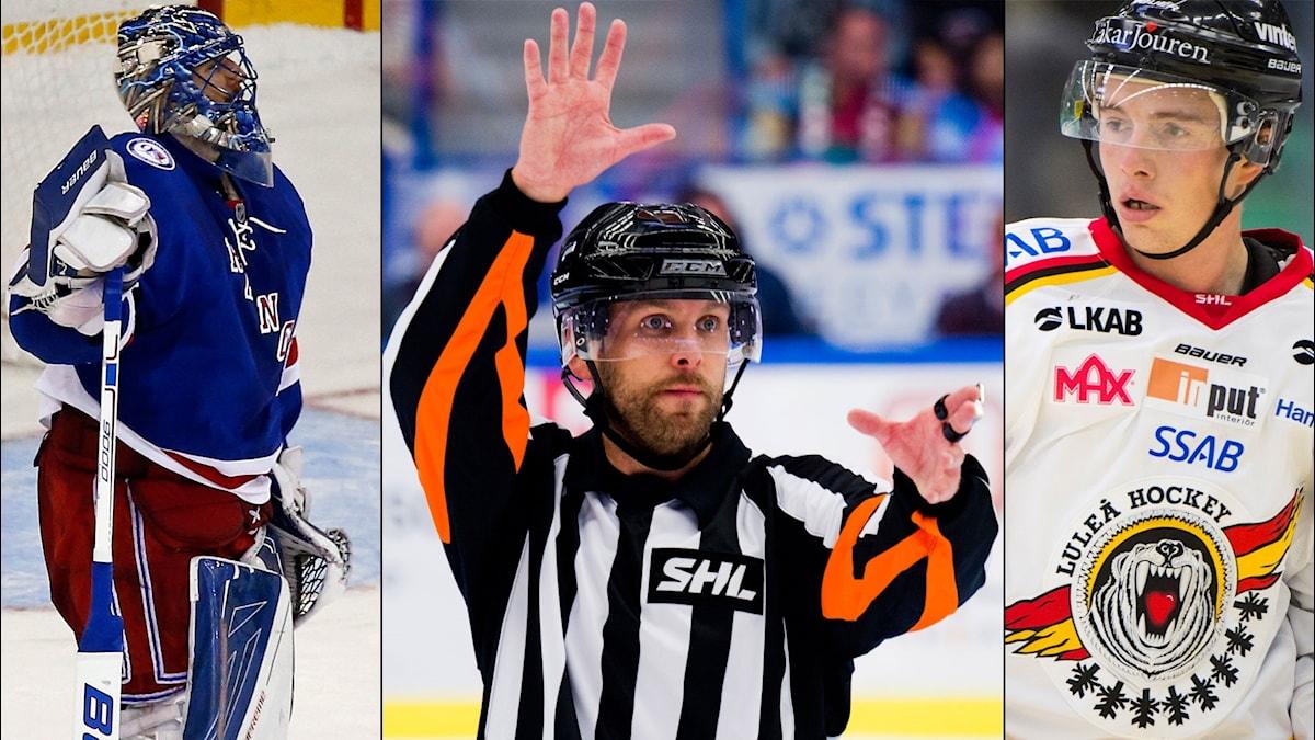Henrik Lundqvist, SHL-domarna och Tim Kennedy kommer samtliga upp i veckans avsnitt av hockeypodden Istid.