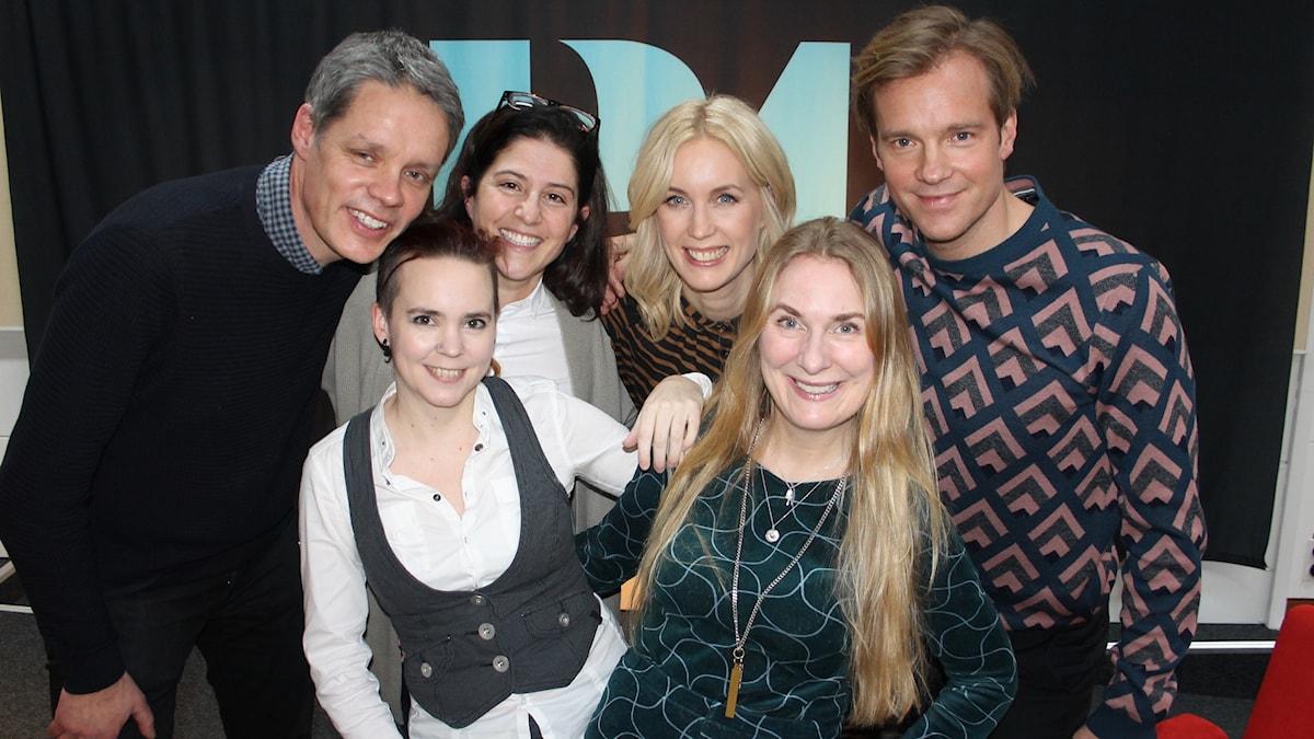 Ulf Danielsson, Dilsa Demirbag-Sten, Jenny Strömstedt, Henrik Johnsson, Sara Lövestam och Annika Lantz.