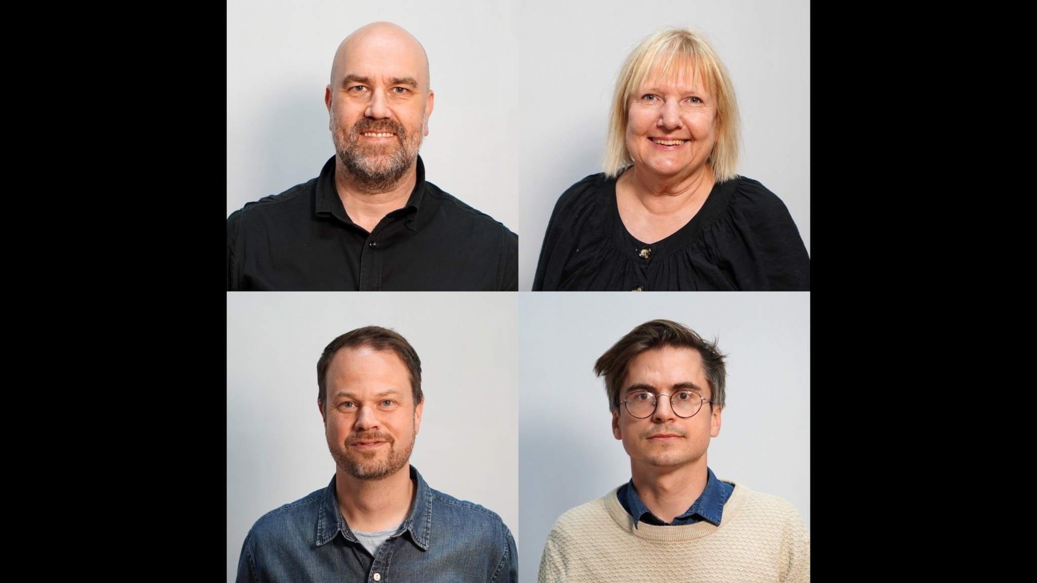 Claes Aronsson, Susanne Palme, Anton Berg & Martin Johnson