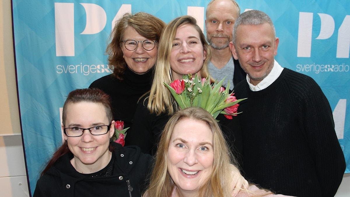 Heidi Avellan, Kristian Luuk, Karin Pettersson, Andres Lokko, Sara Lövestam och Annika Lantz.