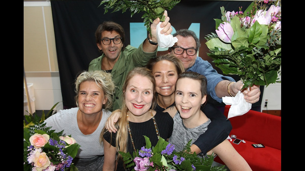 Christine Meltzer, Niklas Strömstedt, Annika Lantz, Carina Berg, Steffo Törnquist och Sara Lövestam!