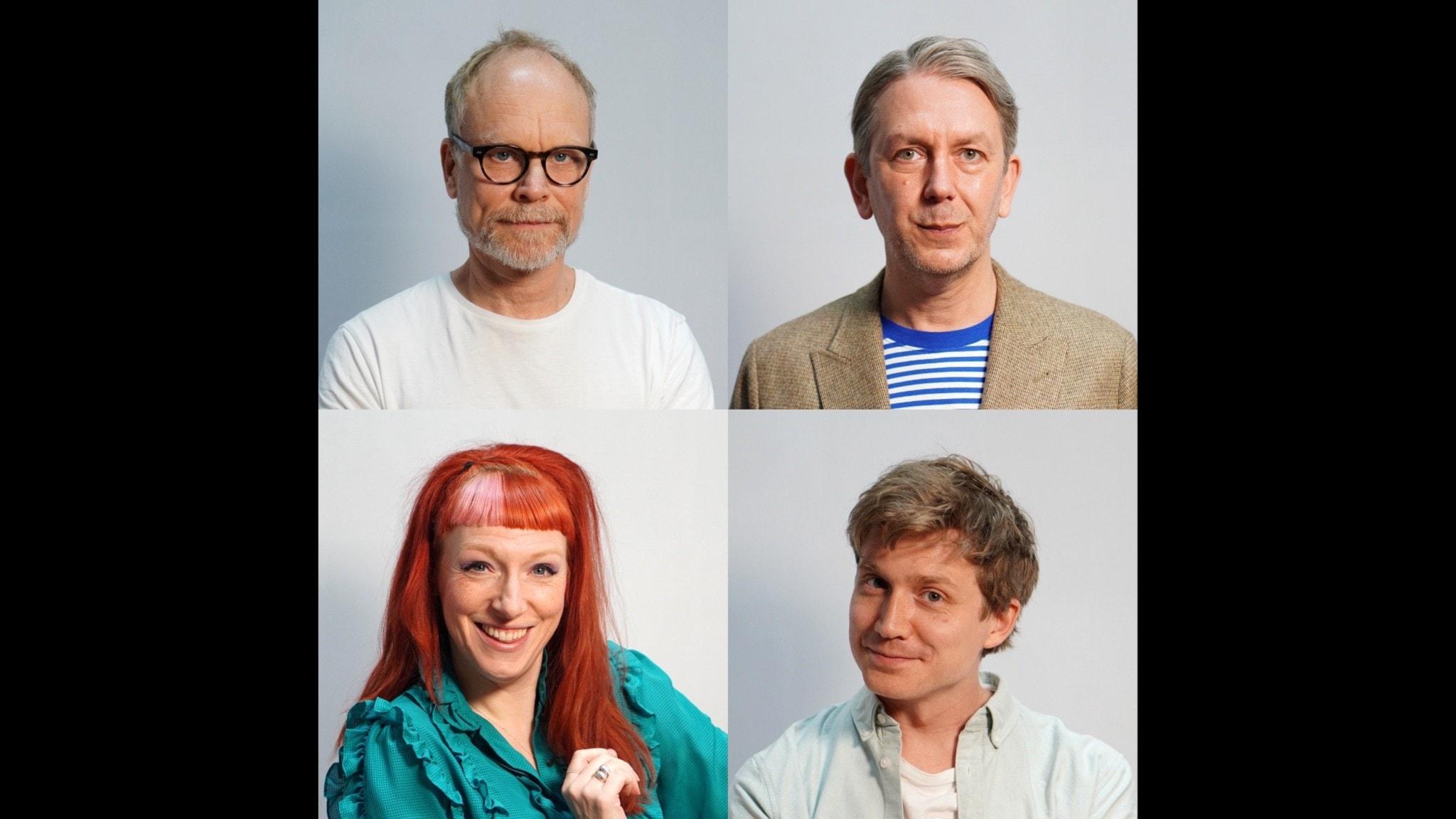 Kristian Luuk, Andres Lokko, Josefin Johansson & Adrian Boberg