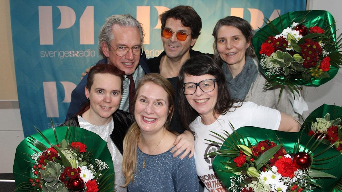 Anders G Carlsson, Niklas Strömstedt, Agneta Karlsson, Anna Charlotta Gunnarson, Sara Lövestam och Annika Lantz!