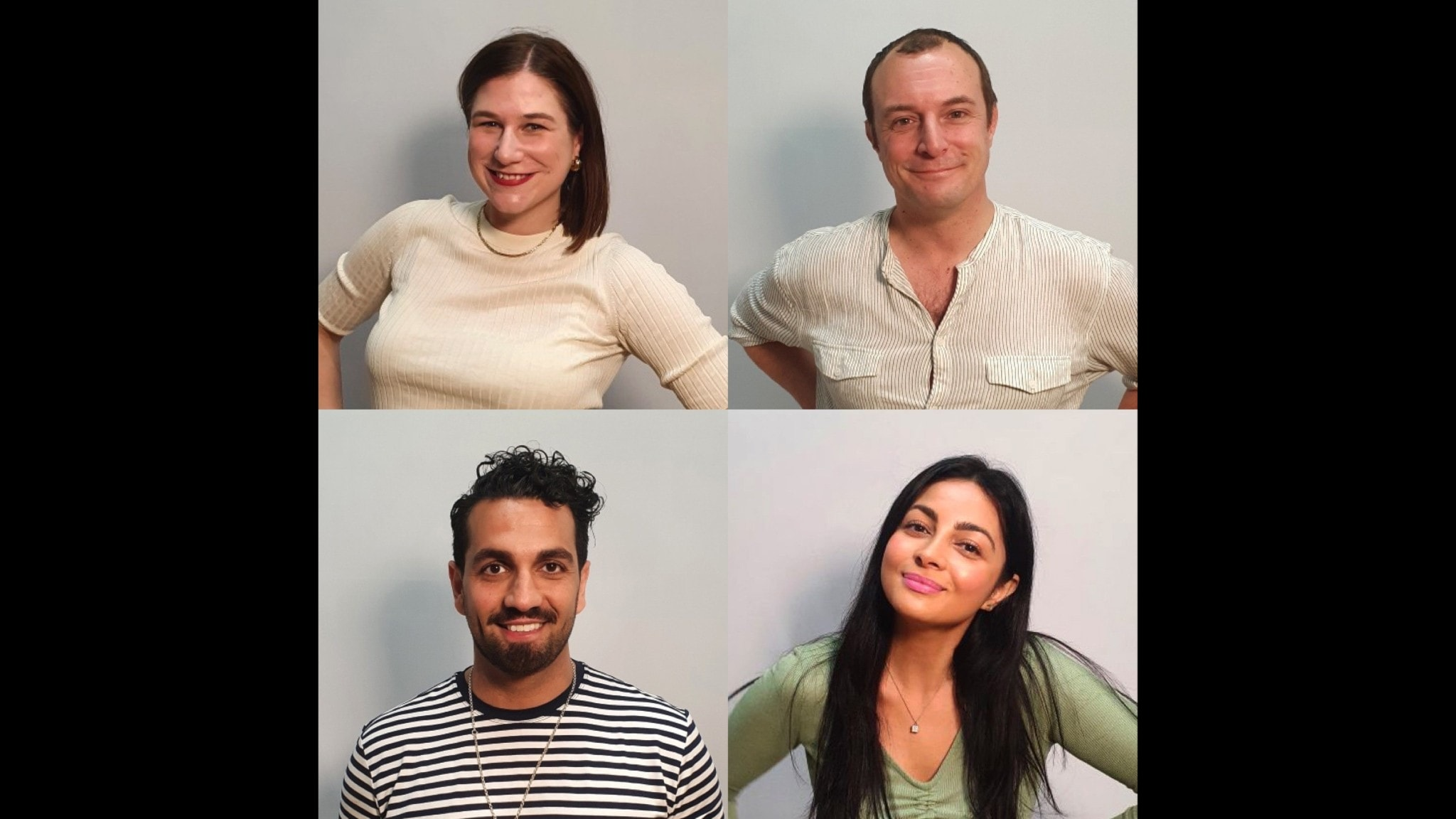 Kristin Lundell, Johan Hilton, Elaf Ali & Nadim Ghazale