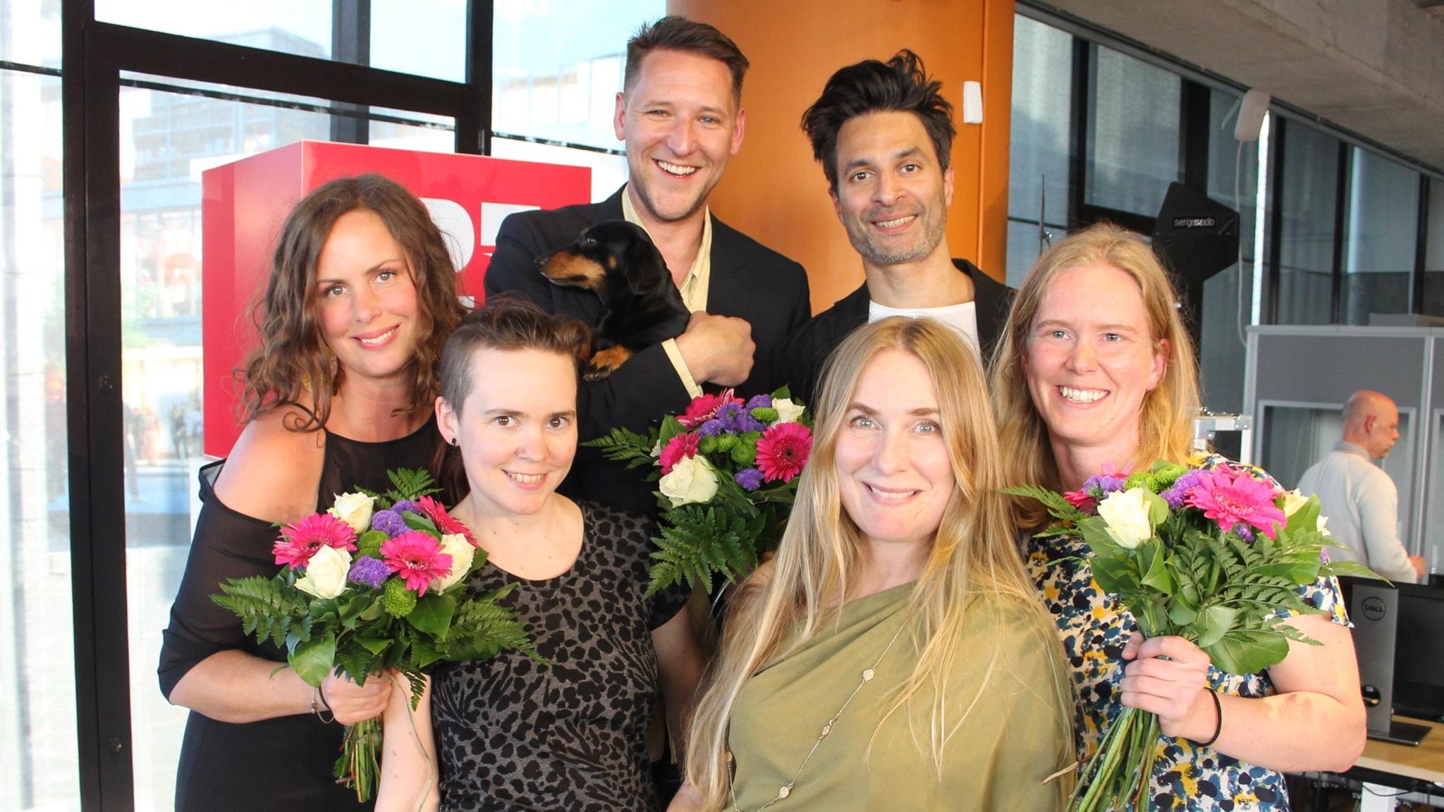 Lantzkampen med Hanna Hellquist, Hannes Fossbo, Kim Veerabuthroo Nordberg, Maja Reichard, Annika Lantz och  Sara Lövestam!