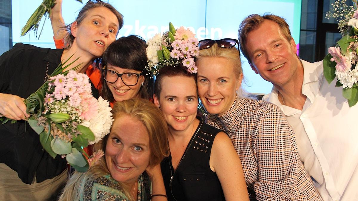 Agneta Karlsson, Anna Charlotta Gunnarson, Jenny Strömstedt, Henrik Johnsson, Annika Lantz och Sara Lövestam!