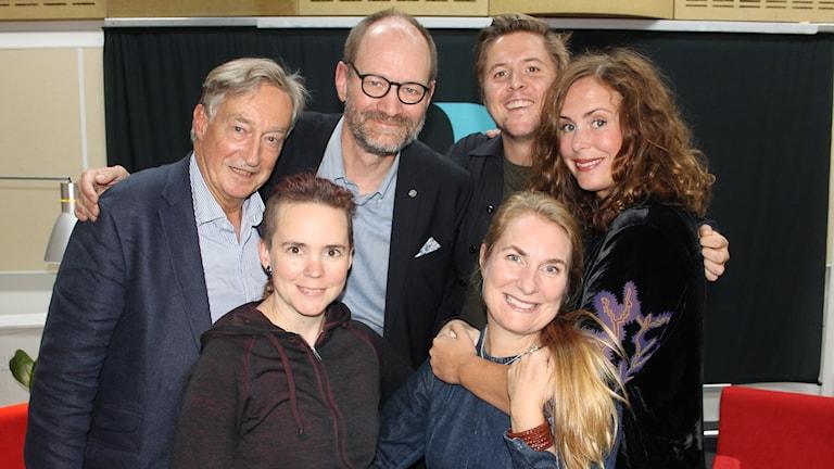 Lantzkampen med Hanna Hellquist, Erik Fichtelius, Lars Ilshammar och Kalle Berg!