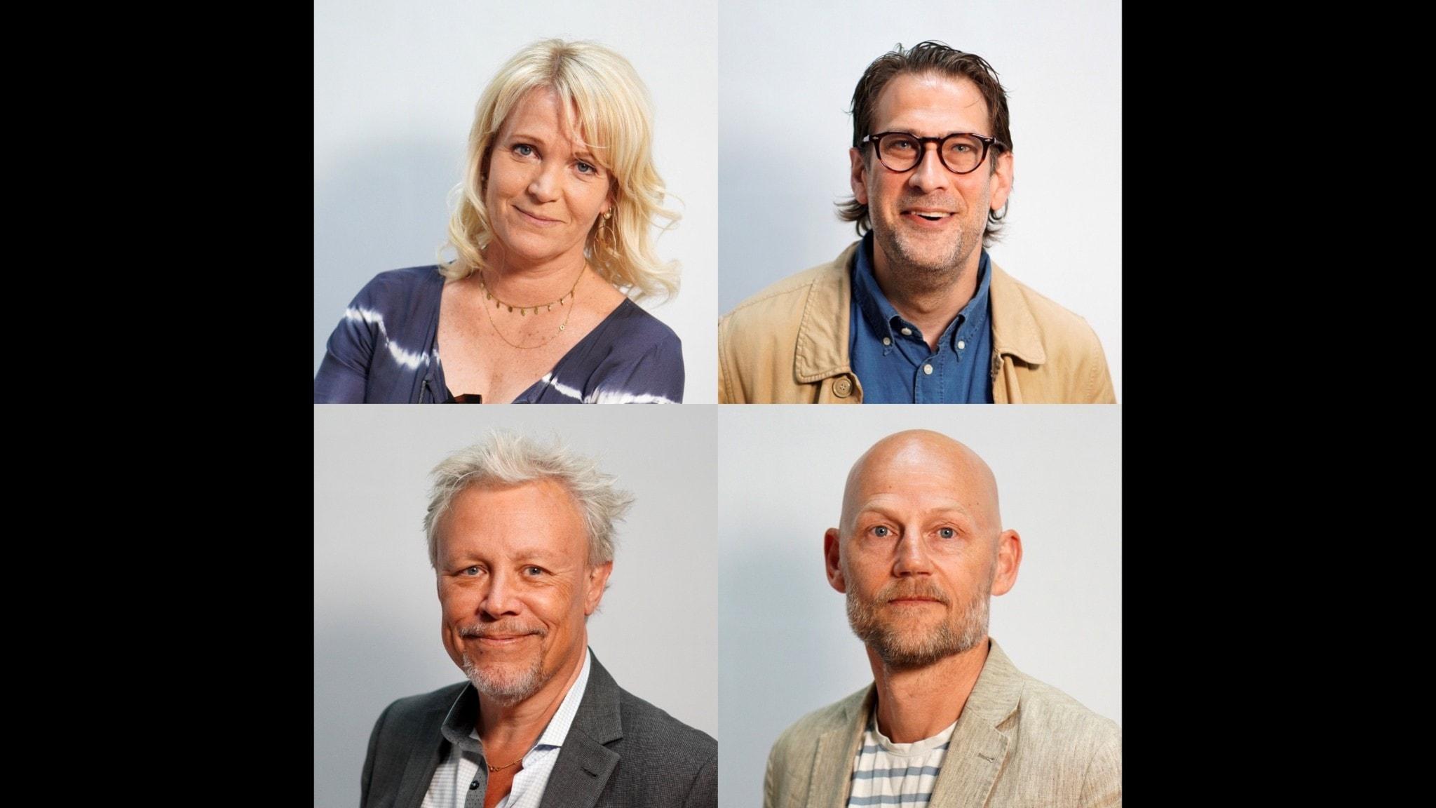 Kattis Ahlström, Niklas Källner, Staffan Dopping & Jörgen Huitfeldt