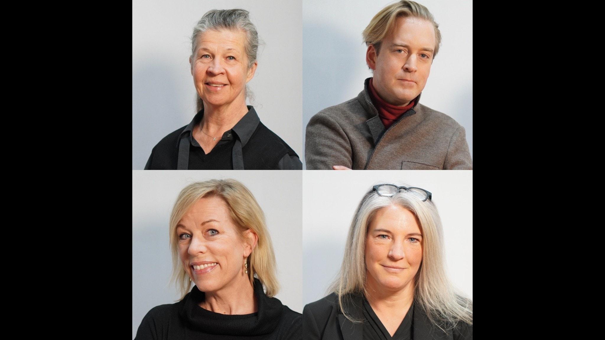 Ingela Olsson, Andreas T Olsson, Ginna Lindberg & Sara Stenholm