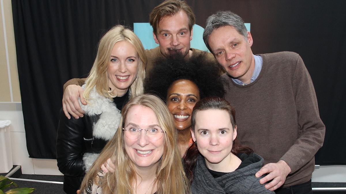 Jenny Strömstedt, Henrik Johnsson, Marika Carlsson, Ulf Danielsson, Annika LaAntz och Sara Lövestam.