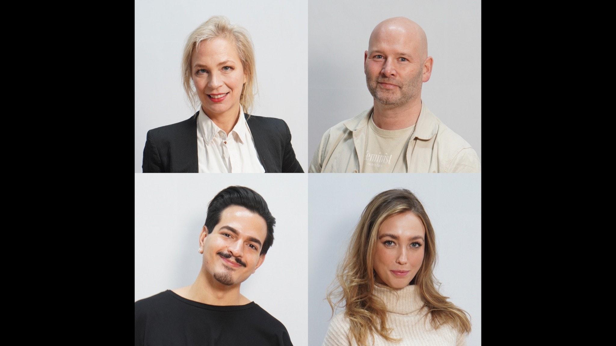 Jenny Lindahl, Martin Borgs, Alex Letix & Olivia Johansson Berntsson