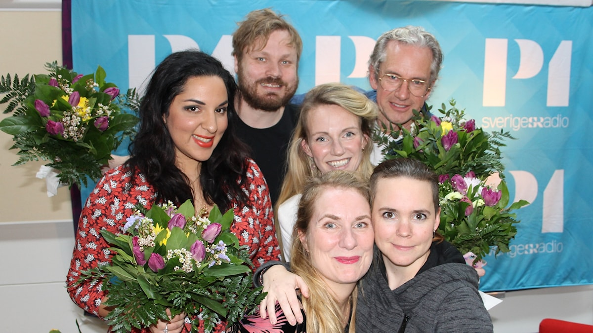 Tara Moshizi, Johannes Klenell, Tove Meyer, Anders G Carlsson, Annika Lantz och Sara Lövestam!!