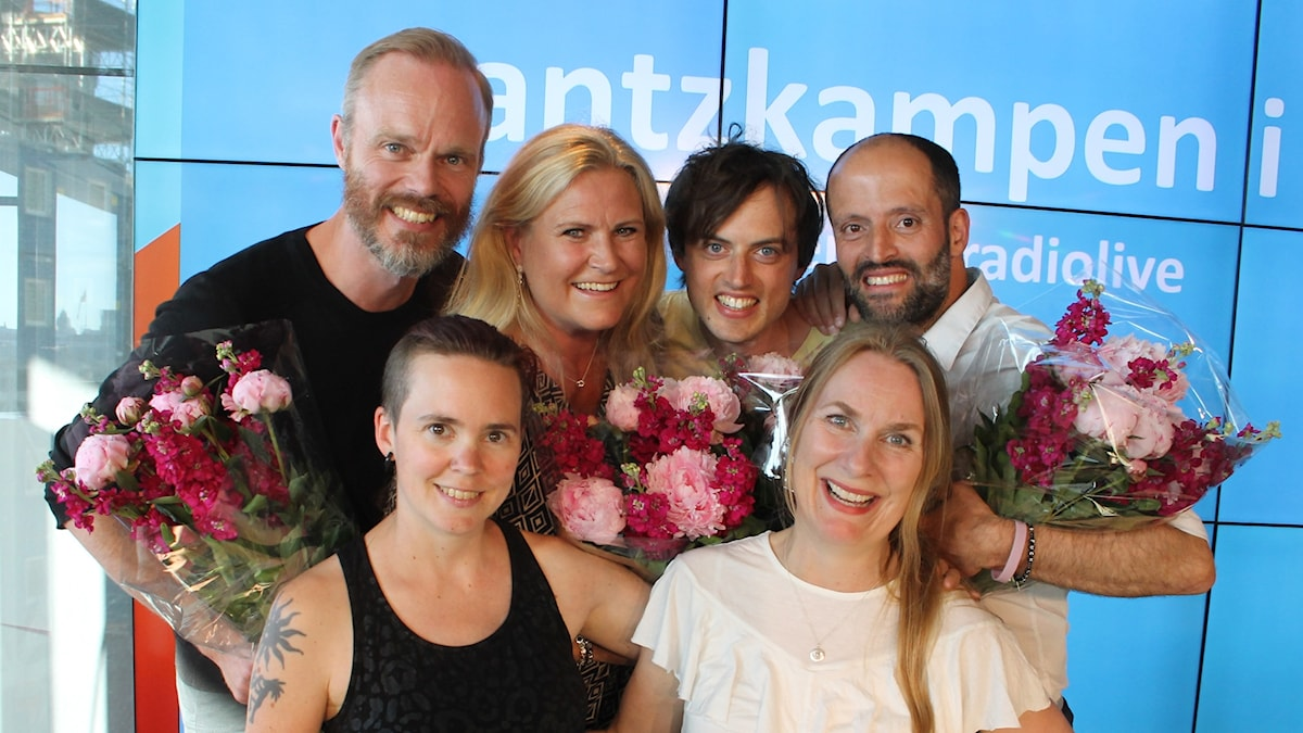Micke Pettersson, Camilla Kvartoft, Jonas von Essen, Idriz Zogaj, Sara Lövestam och Annika Lantz.
