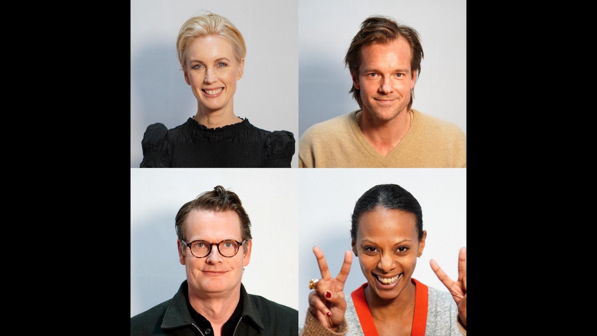 Jenny Strömstedt, Henrik Johnsson, Per Schlingmann & Lili Assefa