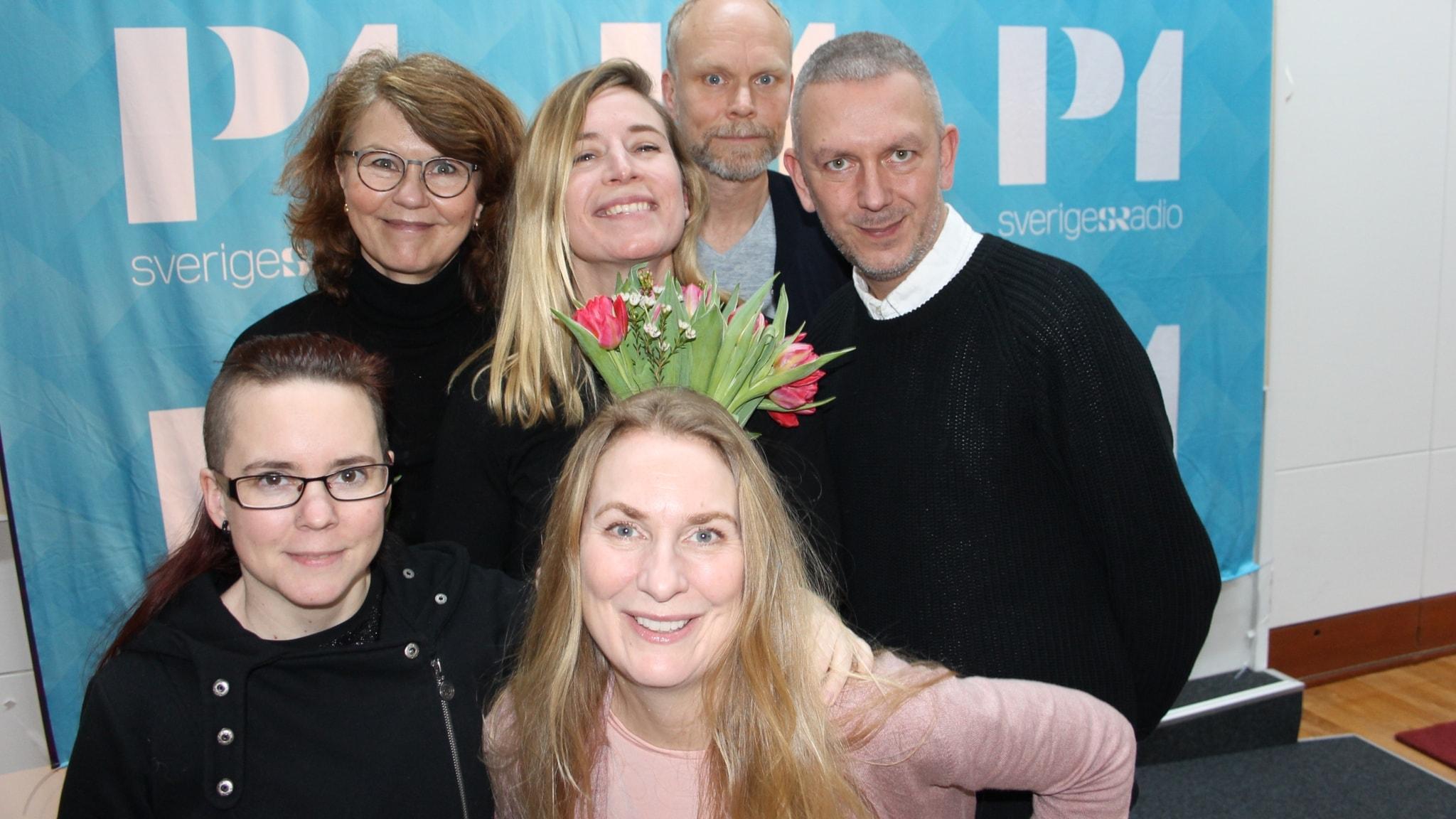 Kristian Luuk, Andres Lokko, Heidi Avellan och Karin Pettersson!