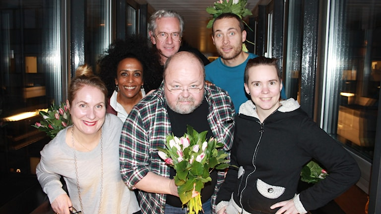 Annika Lantz, Marika Carlsson, Anders G Carlsson, Kalle Moraeus, Jesper Rönndahl och Sara Lövestam.
