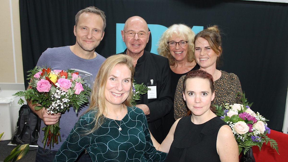 Anders Holmberg, Willy Silberstein, Margit Silberstein, Nike Nylander, Annika Lantz och Sara Lövestam