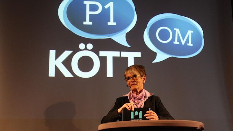 Ella Nilsson. Foto: Emma Hallenberg / Sveriges Radio