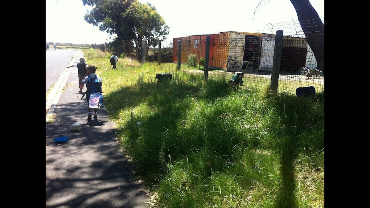 Bicycle Empowerment Network, frivilligorganisationen som lär barn att cykla i Sydafrika Foto: Maja Lagercrantz