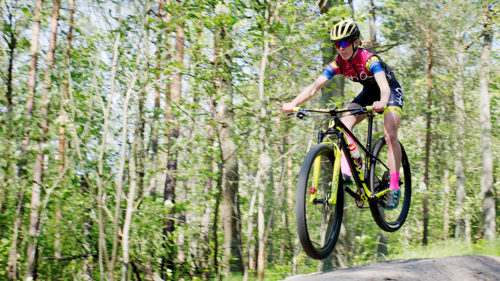 Cykling i naturen