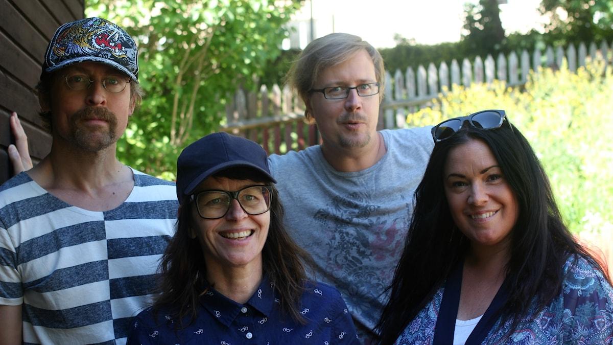 Natanael Derwinger, Anna-Charlotta Gunnarson, Jörgen Lötgård och Martina Thun