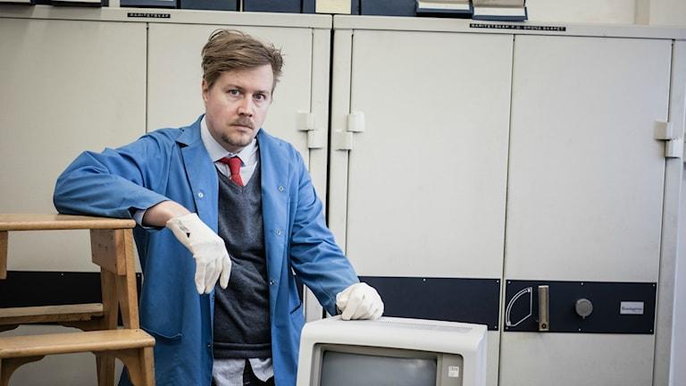 Jörgen Lötgård, programledare Bästa minnet Foto Micke Grönberg:Sveriges radio
