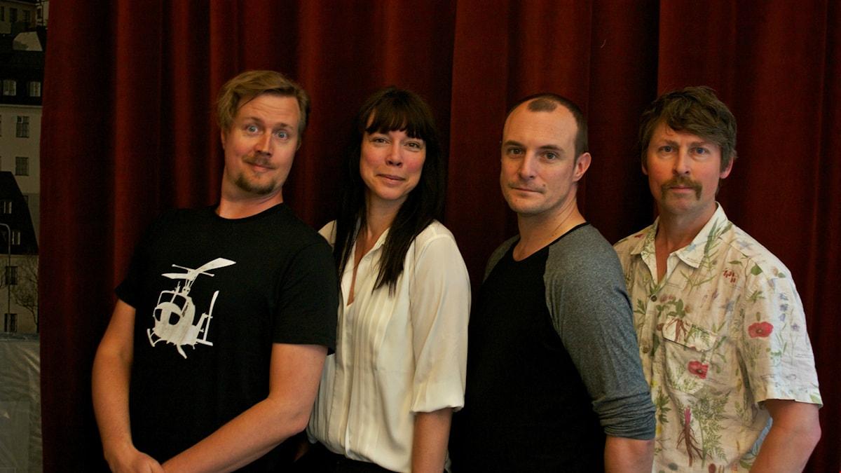 Jörgen Lötgård, Åsa Avdic, Johan Hilton, Natanael Derwinger