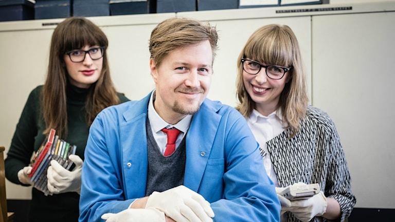 Från vänster: Anna Emanuelsson, Jörgen Lötgård, Maja Åström