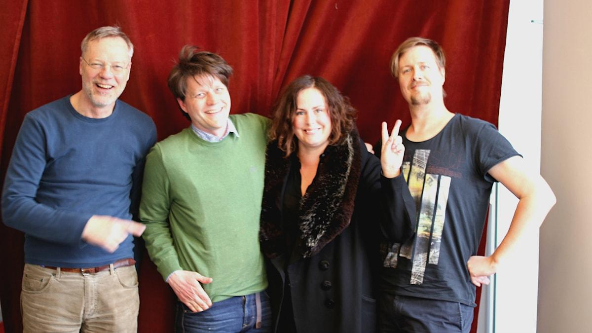 Svante Weyler, Daniel Sjölin, Hanna Hellquist, Jörgen Lötgård