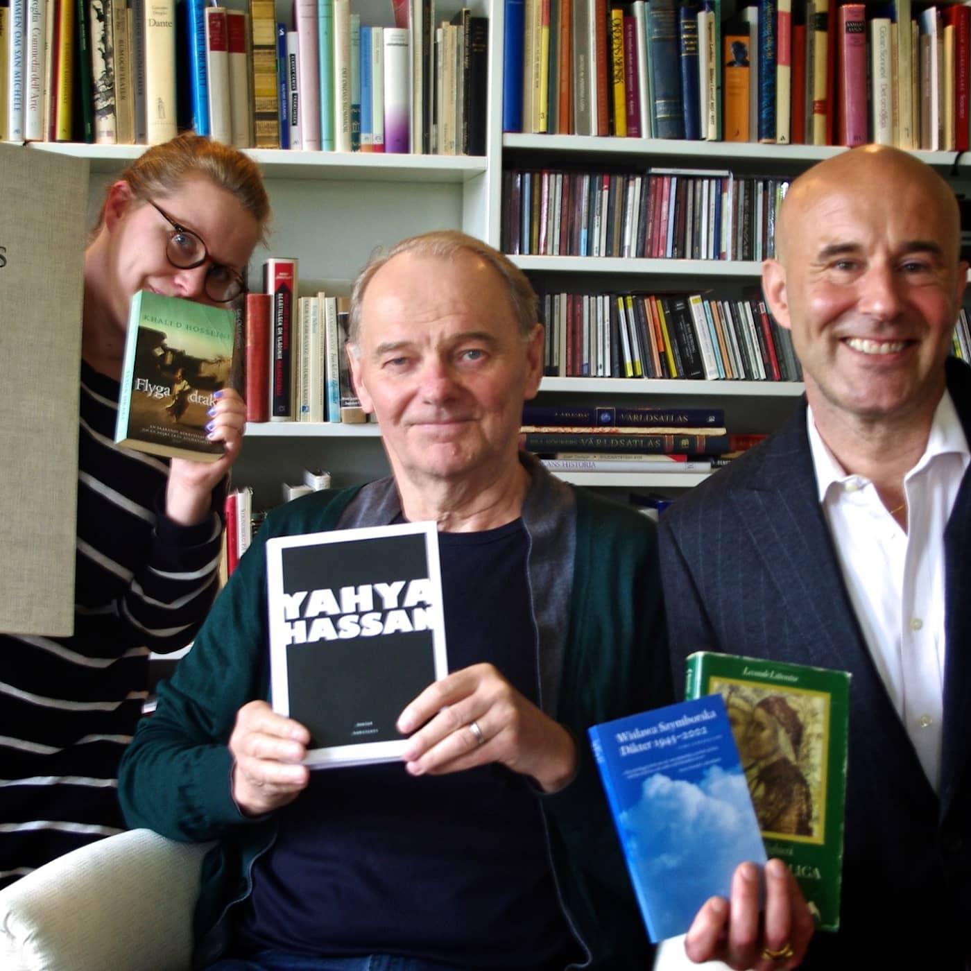 Min bokhylla hemma hos Björn Granath